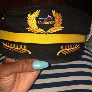 Accessories - Child size flight attendant Southwest Airlines hat